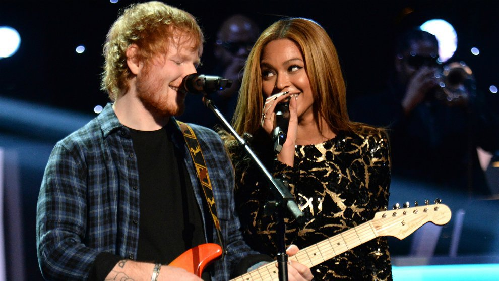 Intip Kolaborasi Romantis Ed Sheeran dan Beyonce di Lagu 'Perfect'