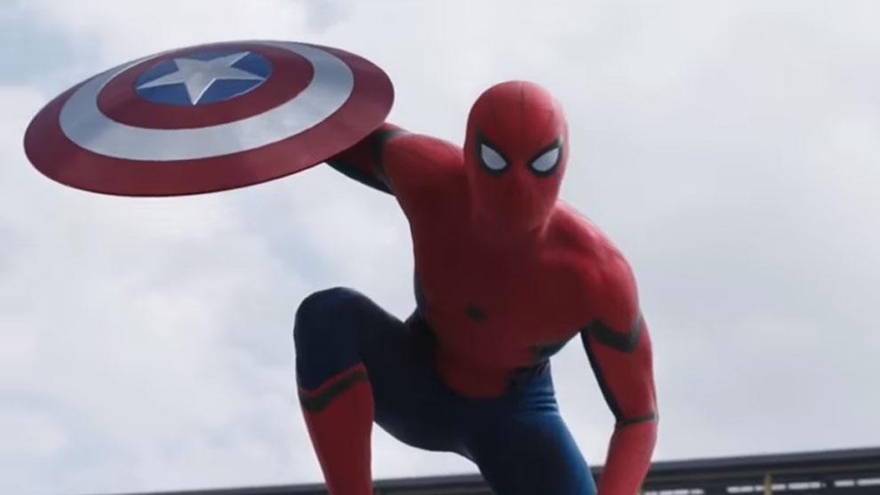 Sosok Spiderman di Captai ACivil War, Jelmaan Michael Jackson © Youtube