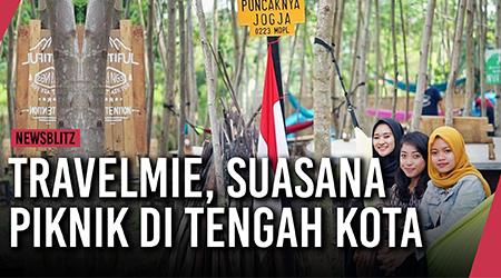 Travelmie, suasana piknik alam pegunungan di tengah kota