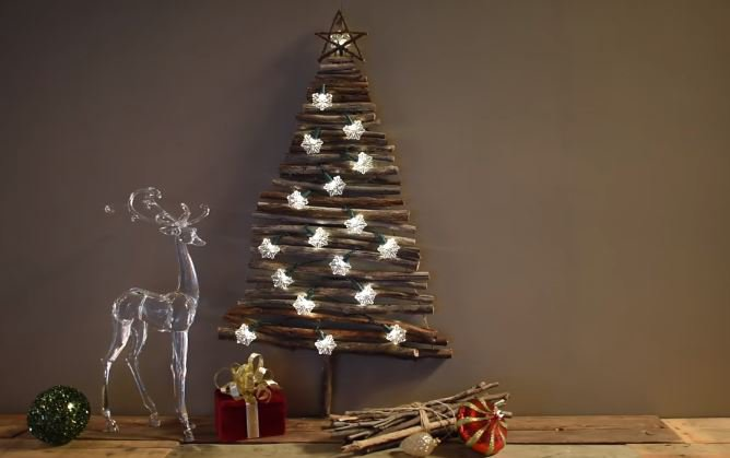 Christmas Decorations - Creative Christmas Tree for Small Apartments live your style © live your style