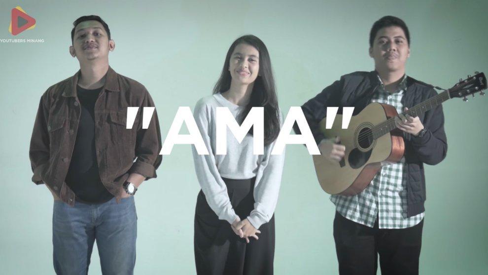 """Ama"" Satu Persembahan Lagu untuk Hari Ibu dari YouTuber Minang"
