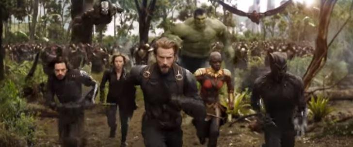 Marvel Studios' Avengers: Infinity War Official Trailer ©Marvel Studios