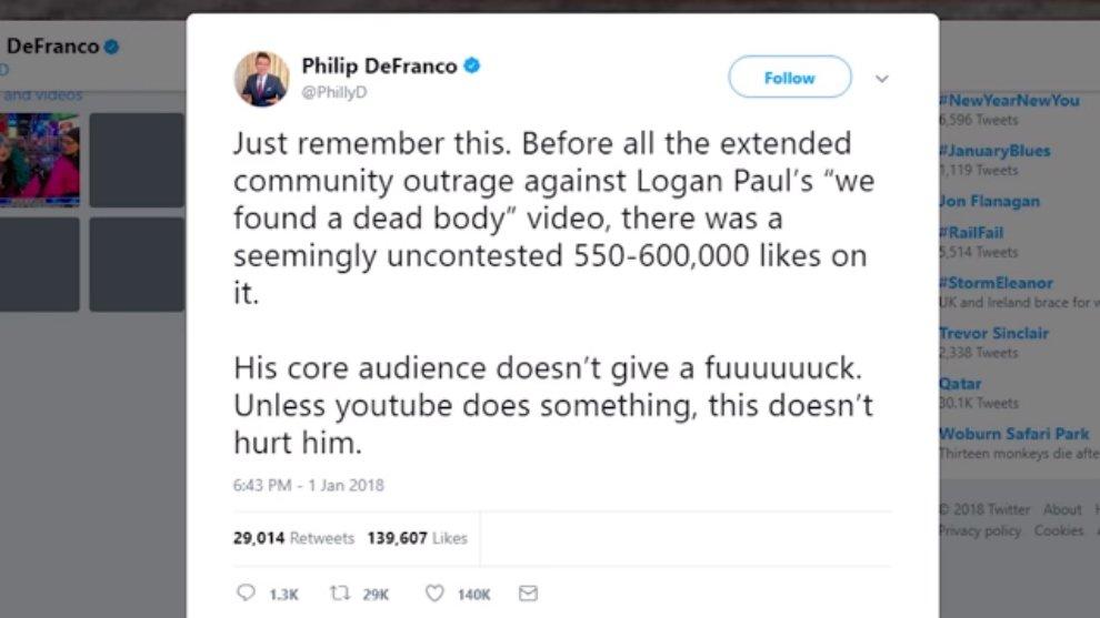 Philip DeFranco Philip DeFranco Twitter