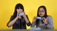 Cobain Snack K-Pop Wanna One Bareng Lidya Michelle di Cek Ombak!