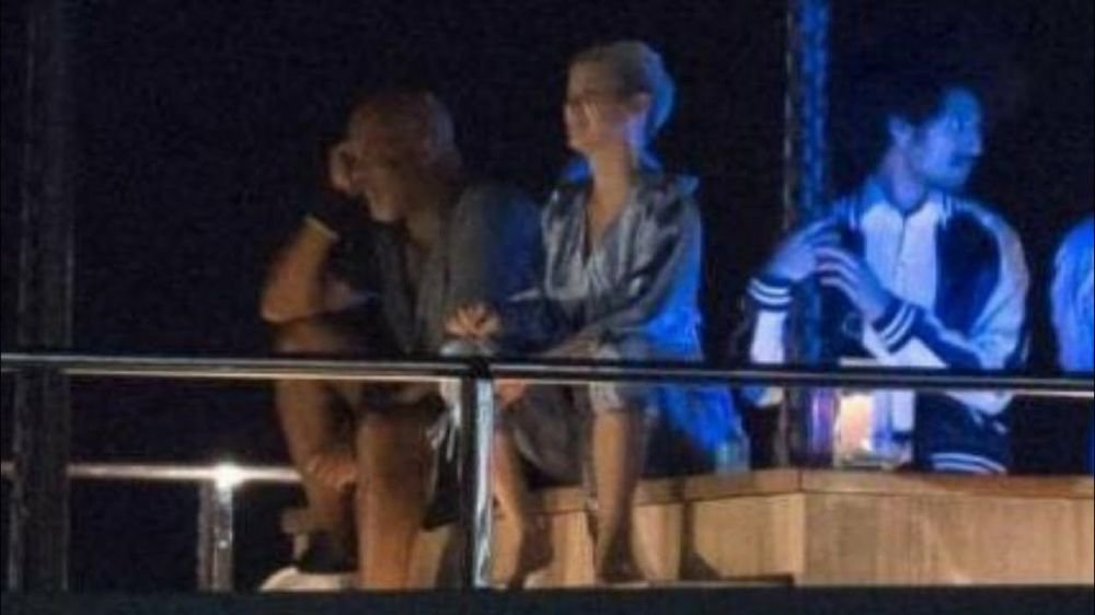 Katy Perry at Taylor Swift's End Game Music Video set in Miami ©i did something bad youtube channel
