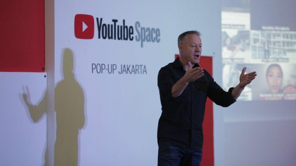 YouTube Pop-Up Space YouTube Pop-Up Space