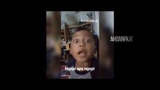 """Kreatif! Video Remix Musik EDM Dari Video Viral """"Ngopi Apa Ngopi"""""""