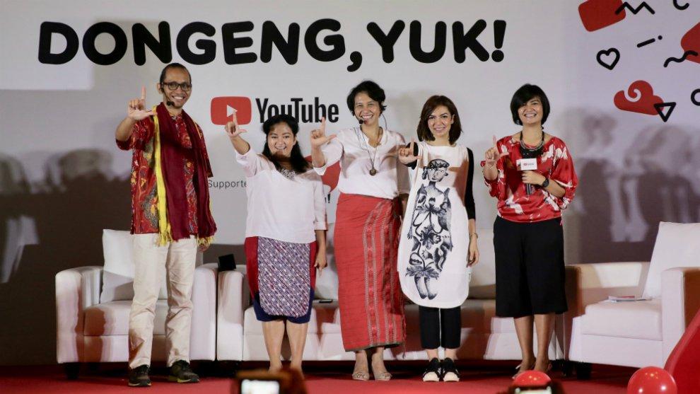 Dongeng Yuk! Melestarikan Dongeng dan Cerita Rakyat Lewat Platform Digital