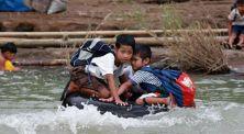 Miris, Inilah Perjuanan Anak di Dunia Untuk Pergi ke Sekolah!