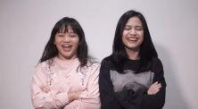 Video Challenge Seru Adu Tahan Joget Hanggini Bareng Amel Carla
