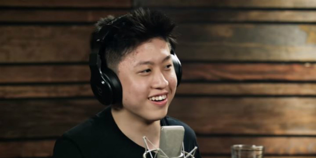 Keren! Rich Chigga Diwawancarai Pharrell Williams © OTHERtone on Beats1 with Rich Chigga (Brian Imanuel) iamother