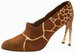 Desain Sepatu Aneh Unik Lucu Kreatif Abis jeng mami ©  jeng mami