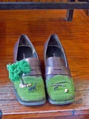 Desain Sepatu Aneh Unik Lucu Kreatif Abis jeng mami ©jeng mami