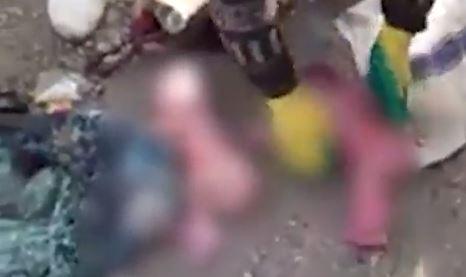 Dua bayi masih merah ditemukan warga di tumpukan sampah, duh