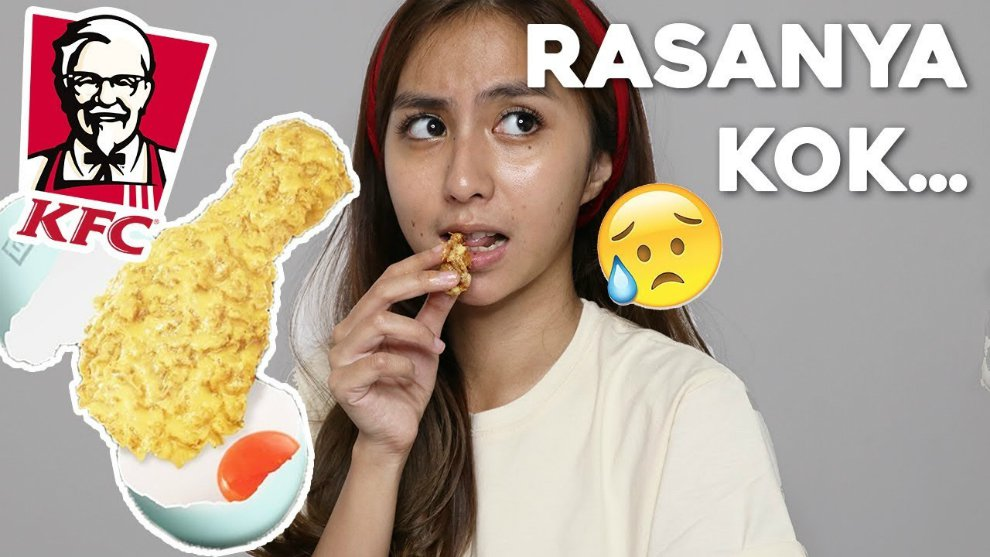 kfc salted egg clairine christabel Youtube Channel