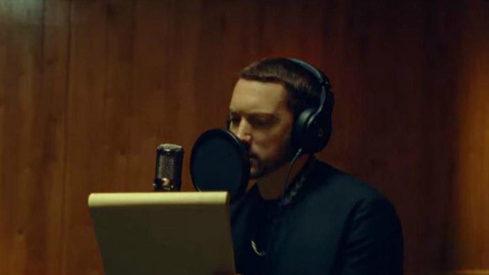 Eminem Rilis Klip Terbaru 'River' Gandeng Hitsmaker Ed Sheeran