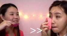 'Crazy Makeup Challenge' Tantangan Makeup Pakai Sikat Baju Bareng Kyra Nayda!