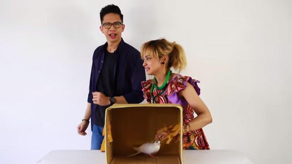 """Lawan Ketakutan Dalam """"What's in the Box Challenge"""" Bareng Yudist Ardhana"""