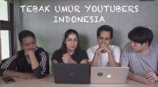 Tidak Terduga! Inilah Umur Asli Dari 7 YouTubers Populer Indonesia