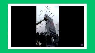 Viral Hujan Uang di Kuningan, Kreator Ini Buat Video Pembahasan