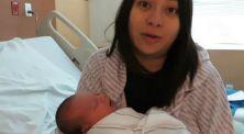 Tangis Haru Puspa Hoose Menyambut Baby George Pulang ke Rumah