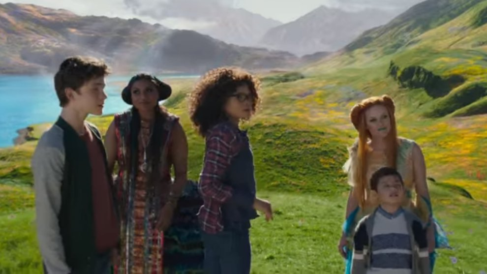A Wrinkle of Time Disney Movie Trailers Youtube channel