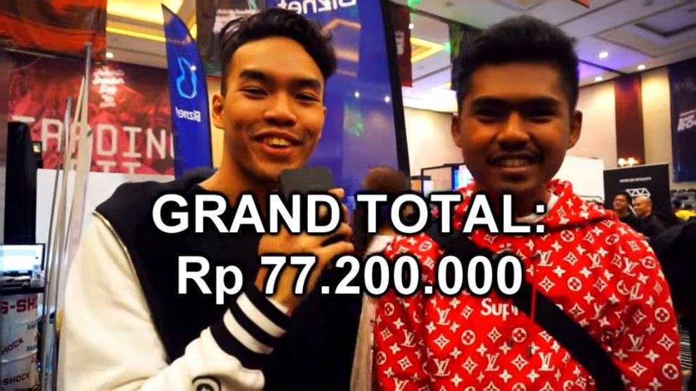 Datang ke Jakarta Sneakers Day, Kreator Ini Bongkar Outfit Seharga 77 Juta Rupiah