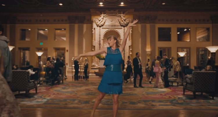 Taylor Swift vevo - Delicate © Taylor Swift vevo
