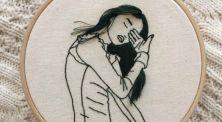 Kreatif Banget! Bordir 3D Karya Sheena Liam yang Hits di Instagram