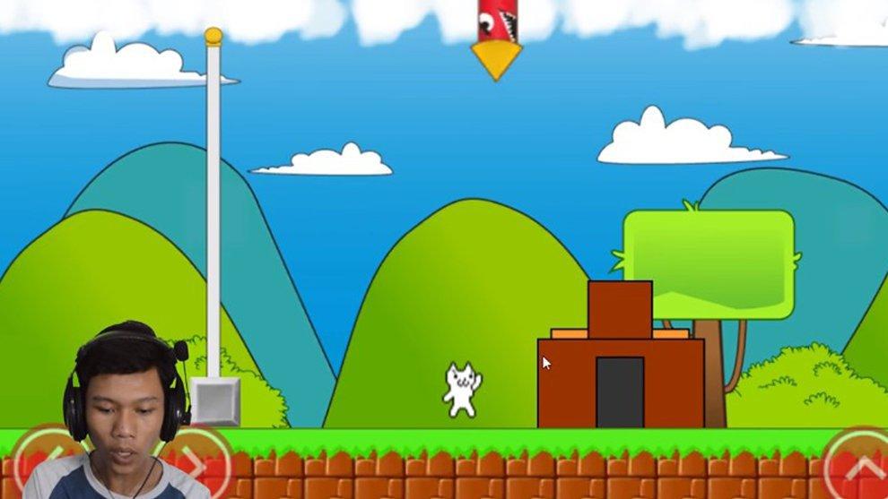 Cat Mario! Game Super Ngeselin yang Bisa Bikin Emosi Pemainnya Meluap