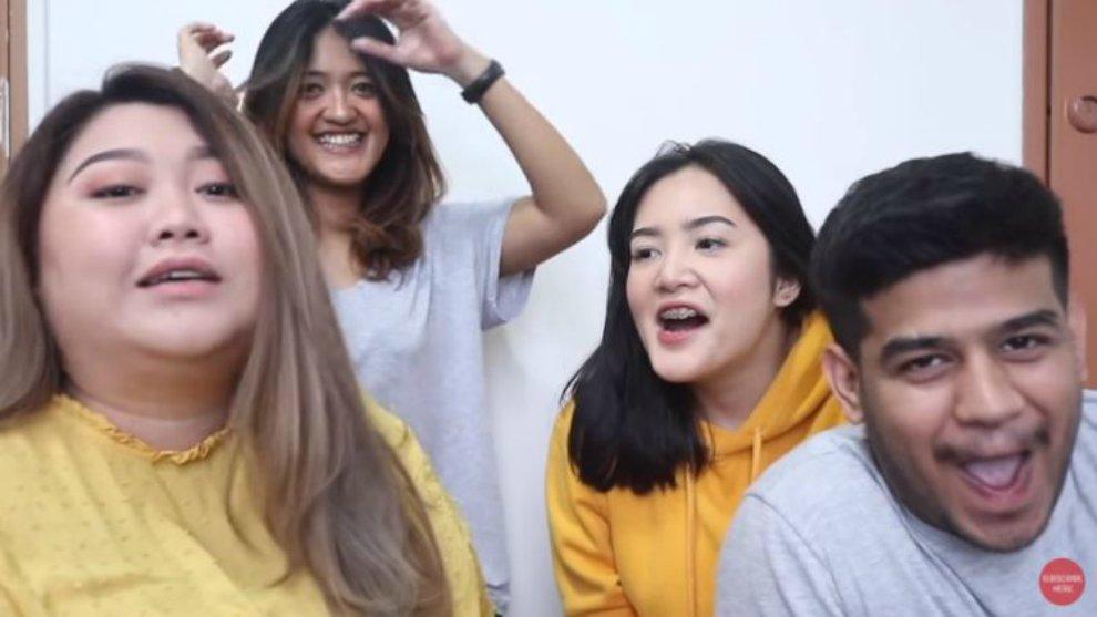 Video Kocak! Fadhil Jadi Pengisi Suara Makeup Tutorial Samsolese