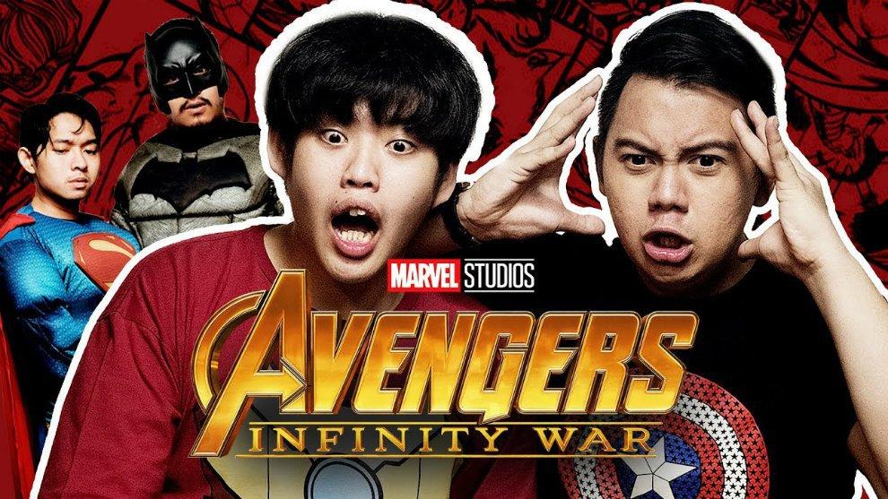 Video Lucu: Tipe-Tipe Orang Setelah Menonton Trailer Avengers: Infinit