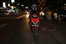 Cerita biker bercadar asal Yogyakarta, pernah ditodong saat touring