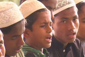 Anak-anak yatim Rohingya belajar Islam di tempat pengungsian