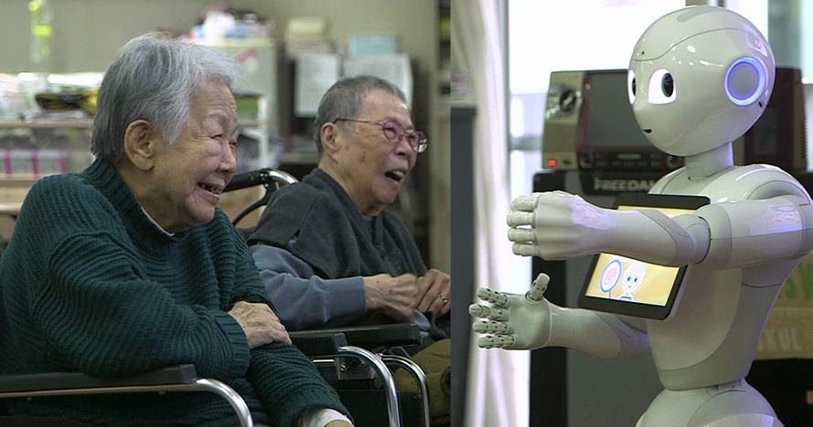Lansia di Jepang kini ditemani robot, jadi keluarga yang bahagia
