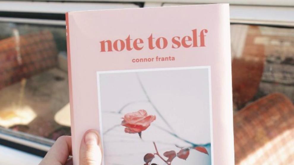 'Note To Self' Buku Kedua dari Connor Franta  connor franta