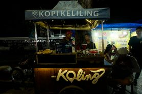 Inspirasi wirausaha dari Koling, penghasilan per harinya bikin ngiler