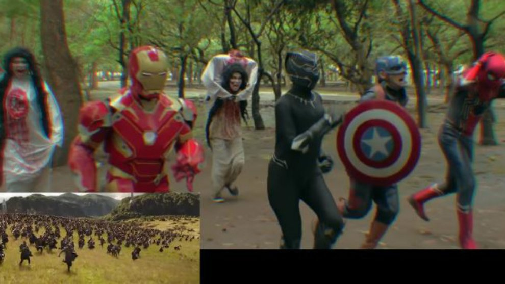 Bikin Parody Avengers: Infinity War, Kery Astina Gandeng Deddy Corbuzier