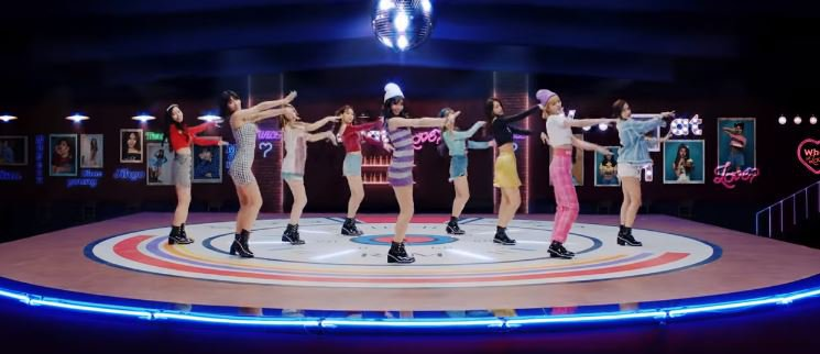 TWICE What is Love MV © 2018 famous.id