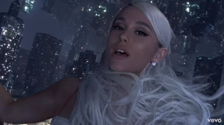 Ariana Grande - No Tears Left To Cry © 2018 famous.id