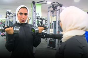 Rayakan era keterbukaan, wanita di Arab ramaikan pusat kebugaran