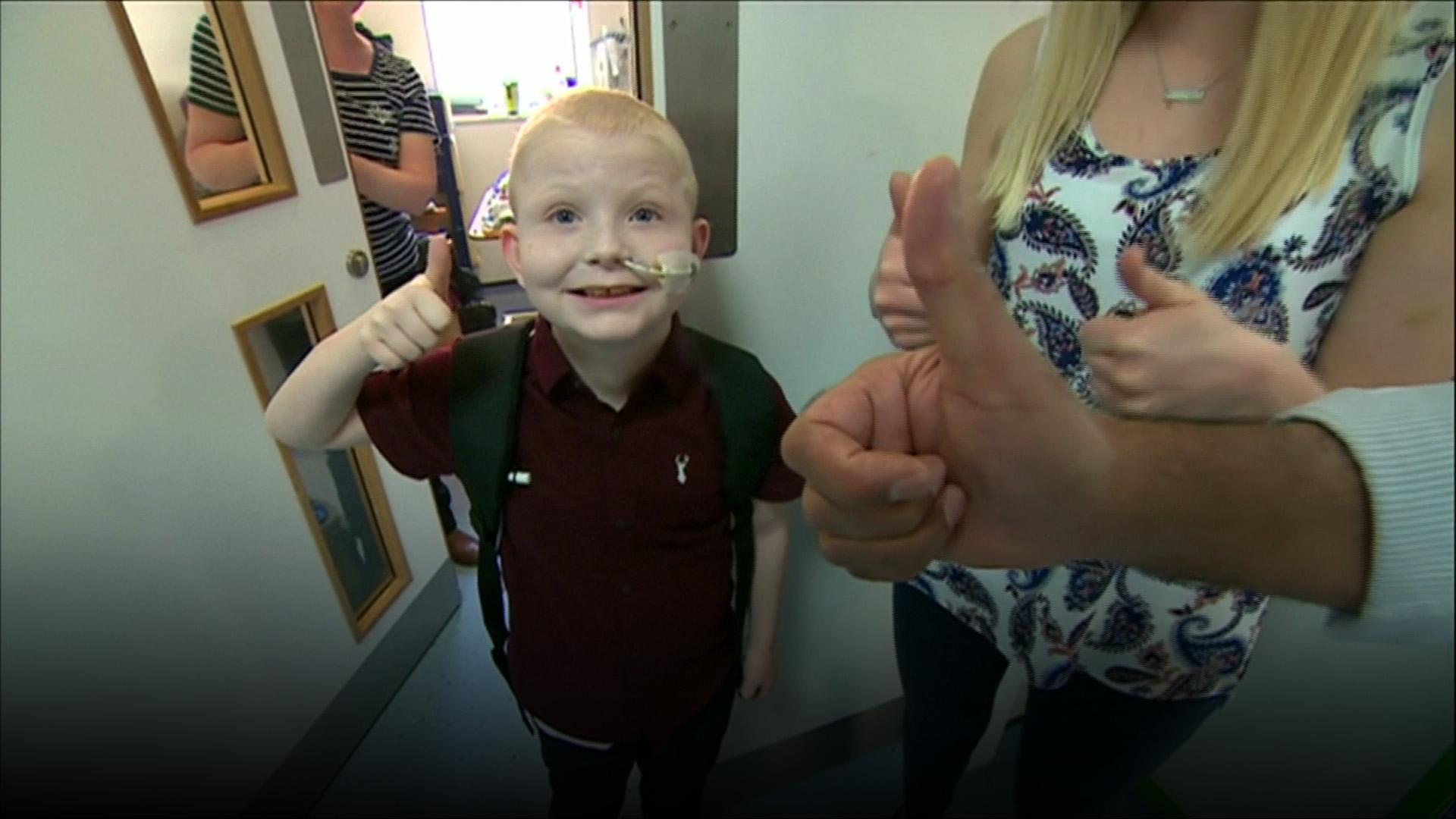 Berusia 7 tahun, bocah ini sudah menerima transplantasi 5 organ tubuh