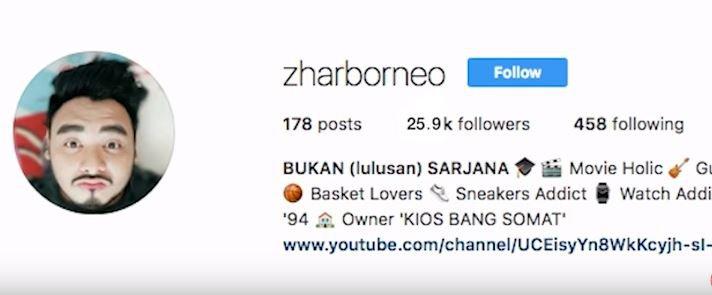 Mengejar Zhar Borneo #VlogFamousID © 2018 famous.id