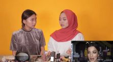 Intip Nadhila QP dan Della Tiro Niruin Makeup Tasya Farasya di Cek Ombak