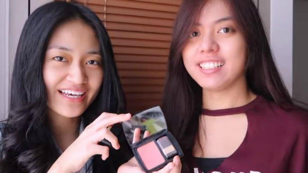 Clarin Hayes Ikutan  Challenge Makeup Dalam 5 Menit, Berhasil Nggak Ya?