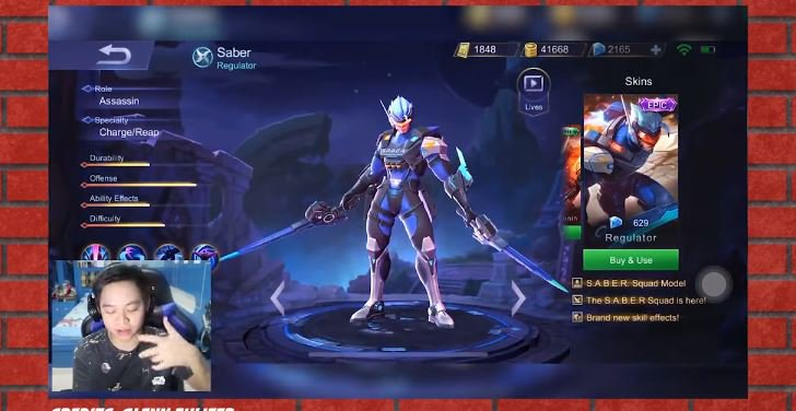 5 Youtubers Mobile Legends Terkaya! © 2018 famous.id