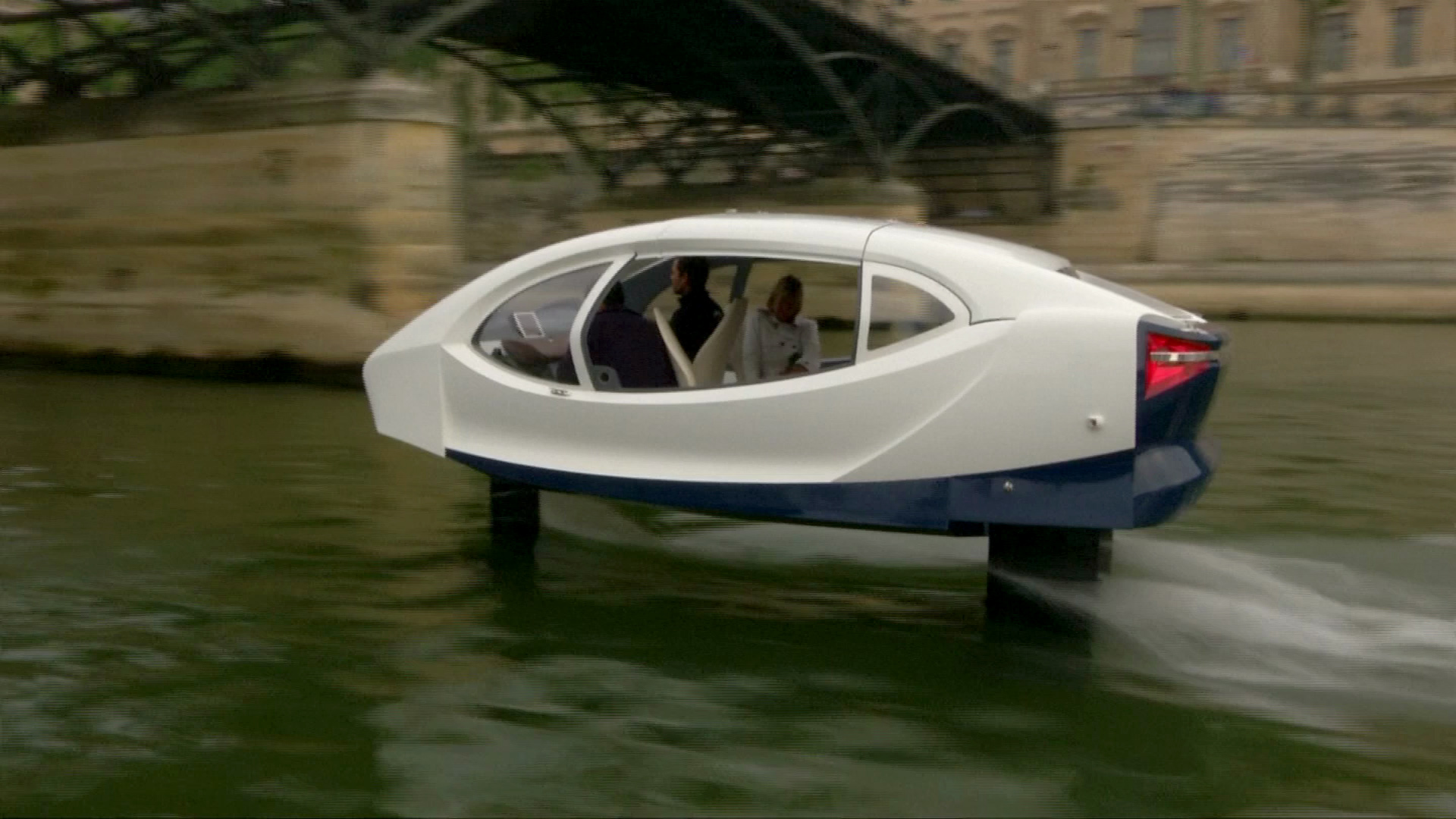 Taksi air ini sangat cocok untuk atasi kemacetan di darat