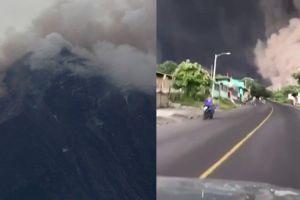 Bapak & anak ini menantang maut demi evakuasi korban letusan gunung