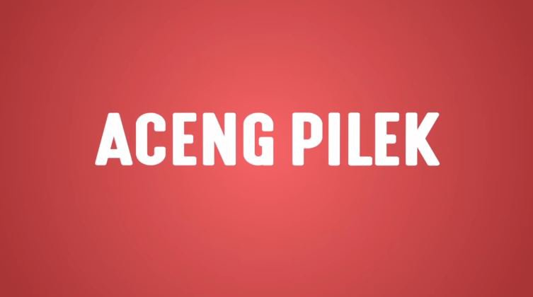 Aceng Pilek (Lyric Video)  © 2018 famous.id