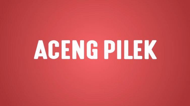 Aceng Pilek (Lyric Video)  © 2018 famous.id